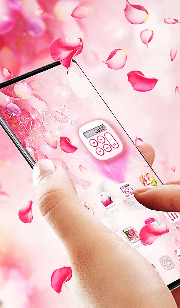 flower pink