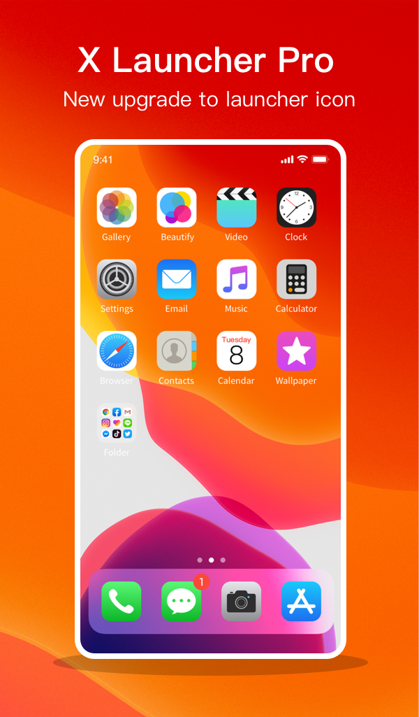 X Launcher for Phone X Max