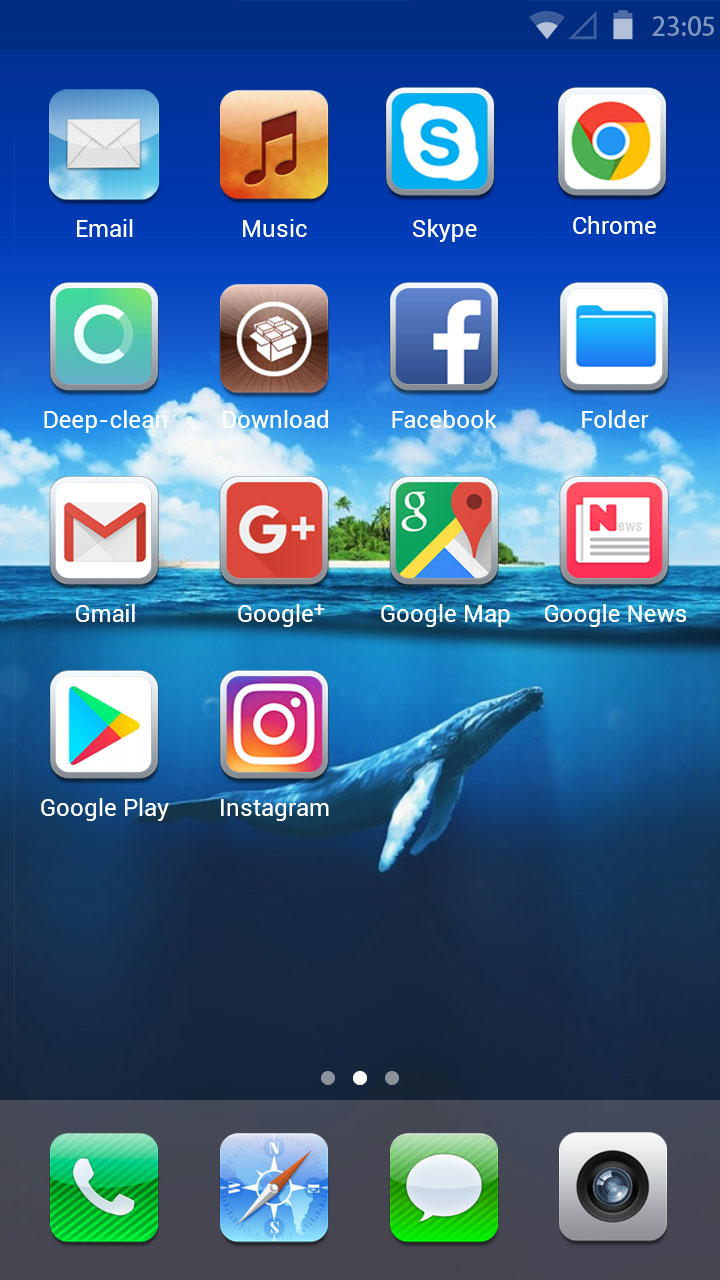 Iphone 6s Plus Wallpaper Hd Free Android Theme U Launcher 3d