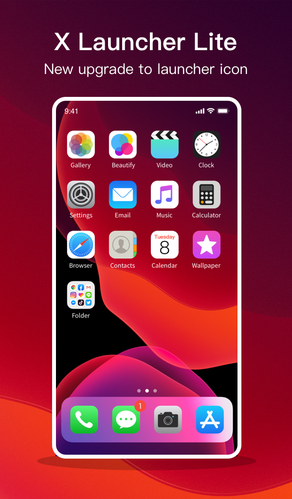 X Launcher Lite for Phone