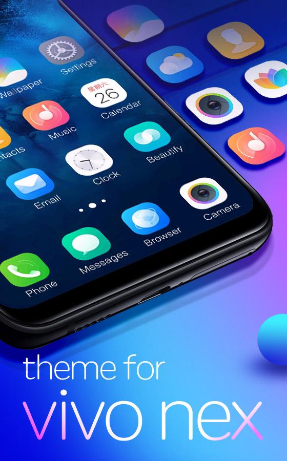 vivo nex free android theme – U launcher 3D