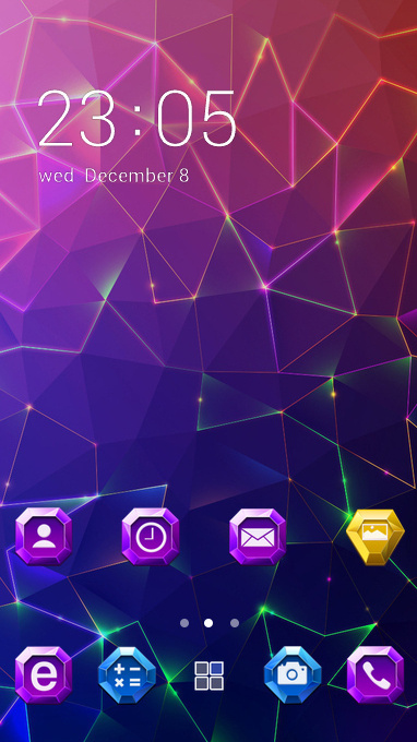 Fantasy/sci-fi theme colorful abstract wallpaper