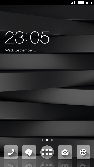 Black and White Stylish Theme