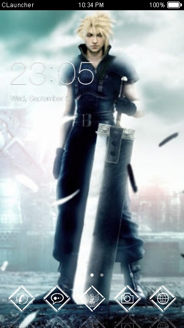 download final fantasy vii theme for your android phone