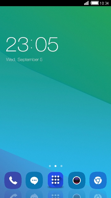 Theme for Oppo F1 HD