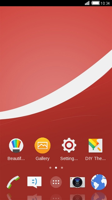 Theme for Sony Xperia Z4v
