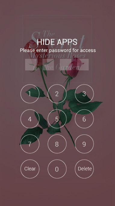 Download flower love theme theme for your Android phone — CLauncher