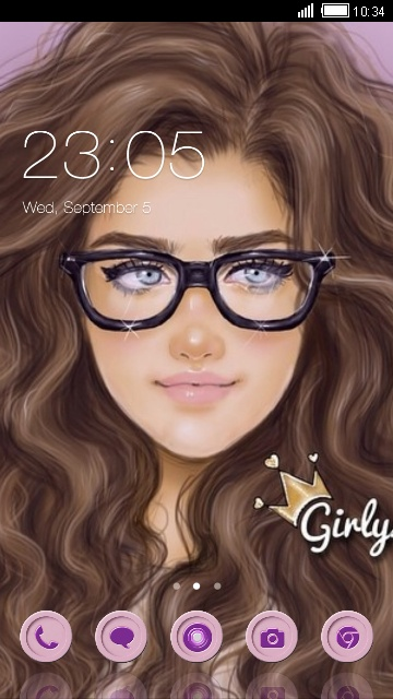 Download Girly M Theme For Your Android Phone Clauncher