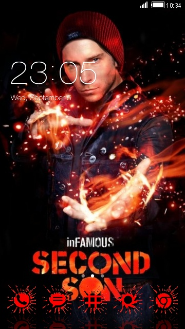 infamous second son cover