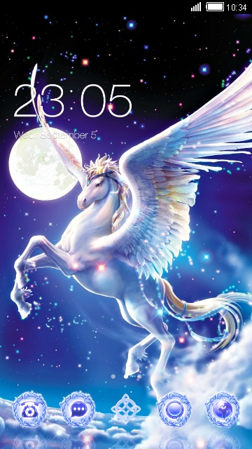 Download Unicorn Wallpapers Fantasy Cartoon Theme Theme For Your