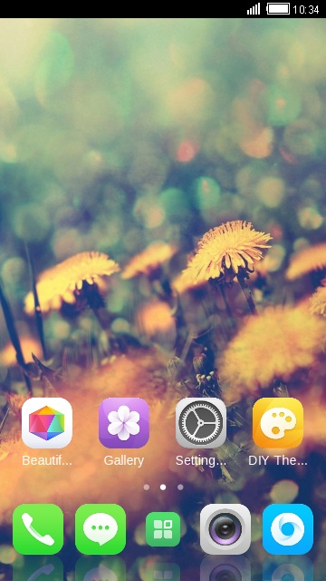 Theme for Lyf Water 8 Dandelion Wallpaper
