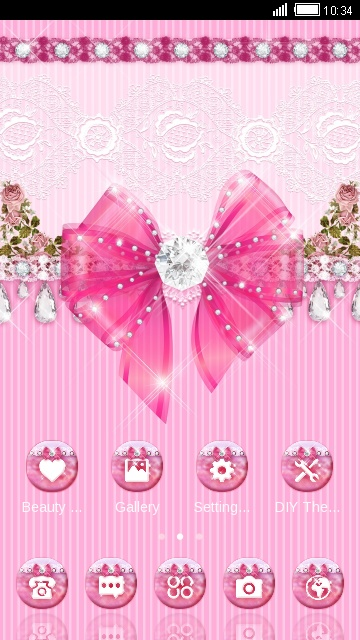 cute pink bow
