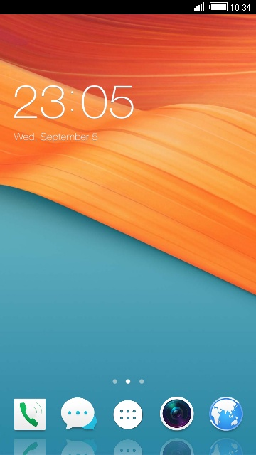 Download ColorOS Launcher Theme for Oppo F3 Wallpaper theme for your