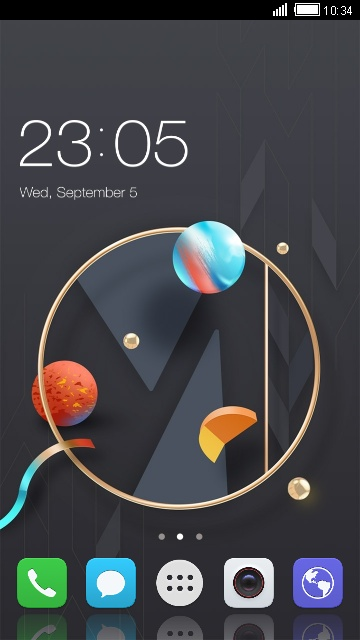 Theme for ZTE Nubia Z17 mini
