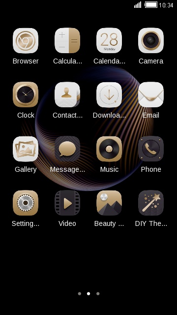 Theme for Coolpad Max HD