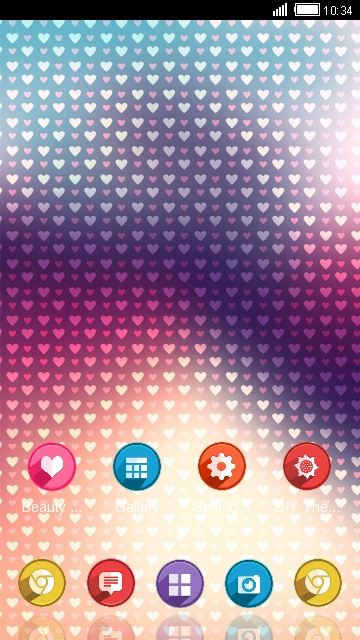Fantasy love Theme for android free