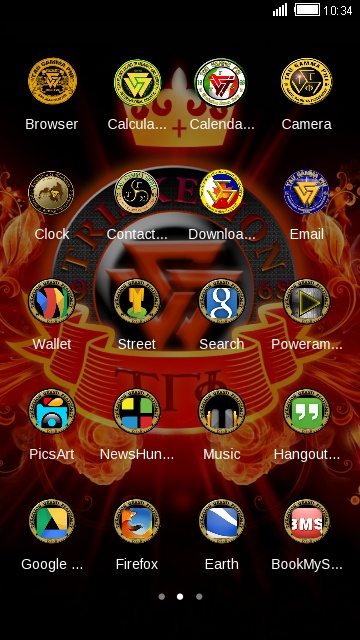 Download tau gamma phi theme for your Android phone — CLauncher