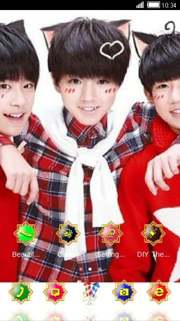 Download Tf Boys Theme For Your Android Phone Clauncher