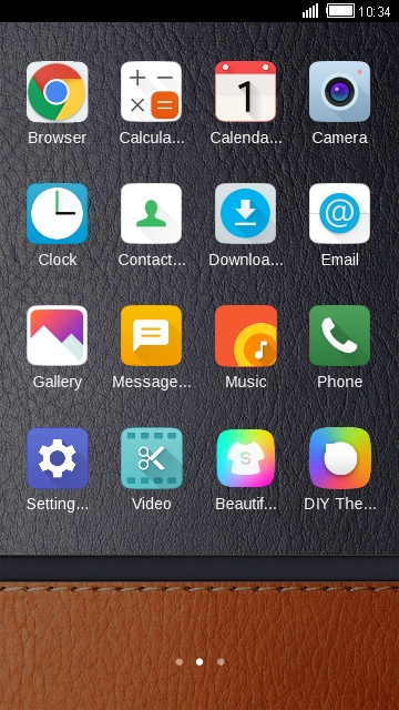 Download Theme for LG V10 Leather Wallpaper theme for your Android