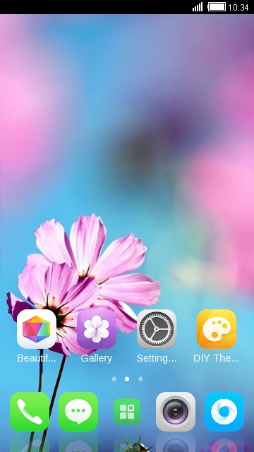 Theme for Karbonn K9 Smart 4G Flower Wallpaper
