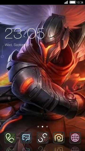 Download Project Yasuo L O L Theme For Your Android Phone Clauncher