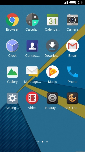 Download BlackBerry Priv theme for your Android phone