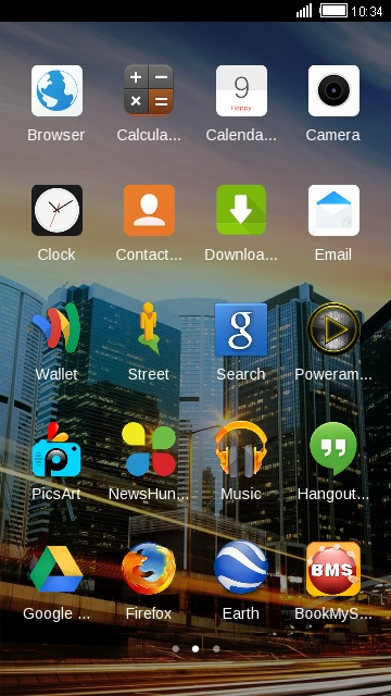 Download R11s Oppo ColorOS Theme & Wallpaper HD theme for your