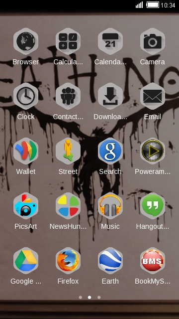Download Death note theme for your Android phone — CLauncher
