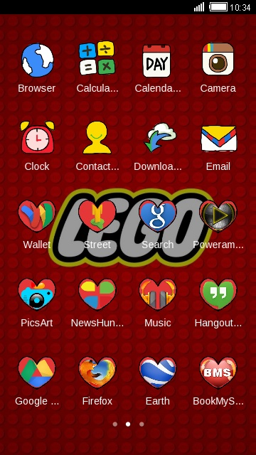 Download lego logo theme for your Android phone — CLauncher