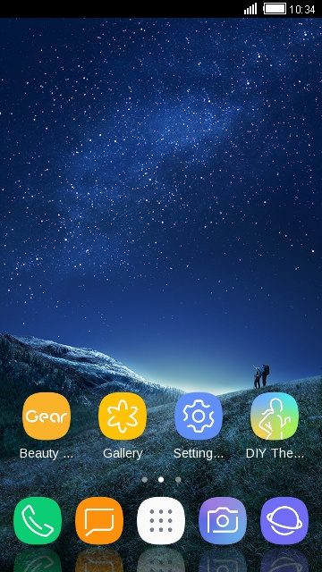 Theme for Galaxy S8 HD