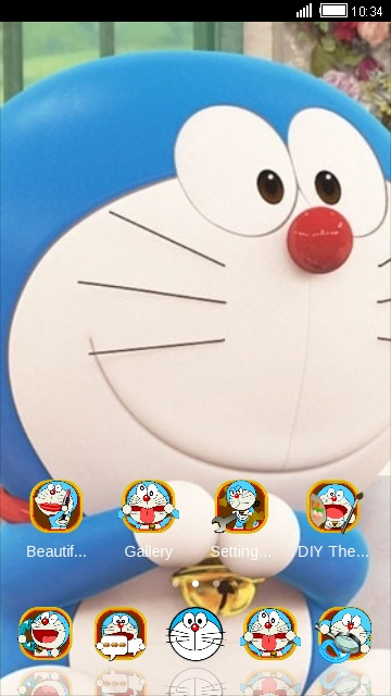 Download doraemon icon theme for your Android phone — CLauncher