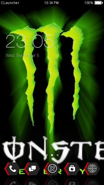 Download Monster Energy Theme For Your Android Phone Clauncher