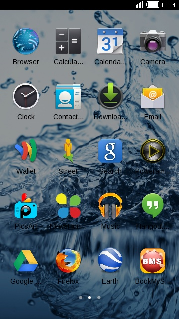 Theme for Lyf Water 7S HD