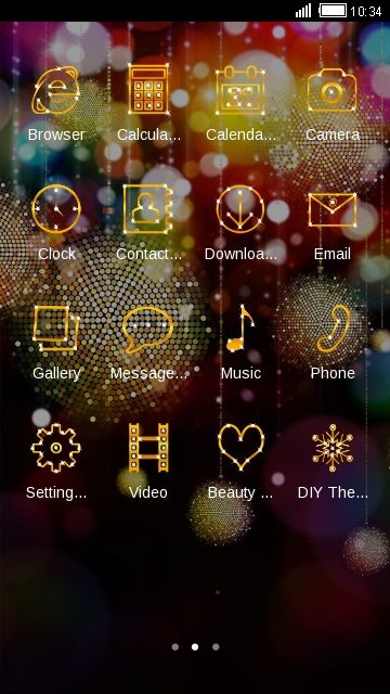 Glitter Live Wallpaper Sparkling Theme