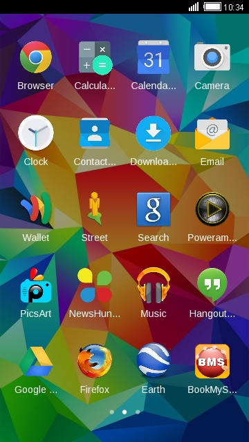 Galaxy Core Prime VE Theme