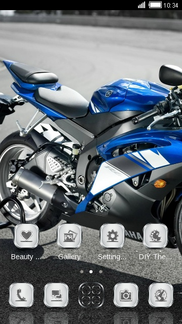 Motorcycle HD Theme: R6 ultra