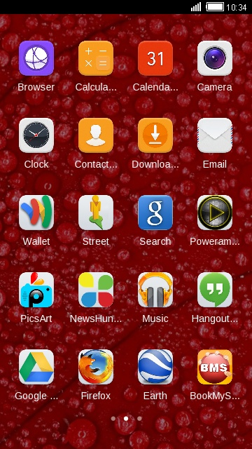Theme for Huawei Y635