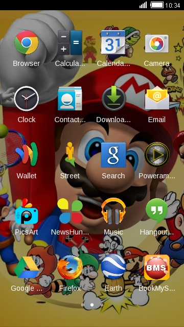Mario by Android