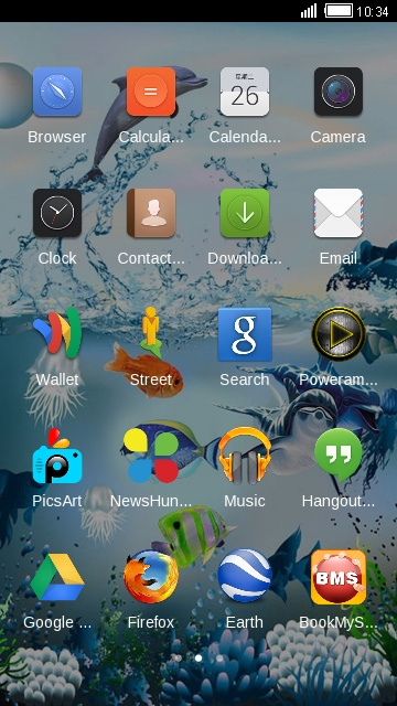 Theme for Gionee Elife E3