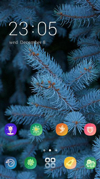 fir forest theme