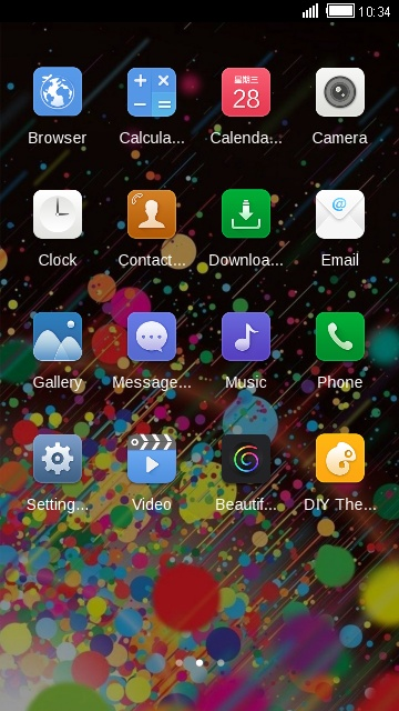 Theme for Gionee S6