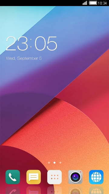 Theme for LG G6 HD