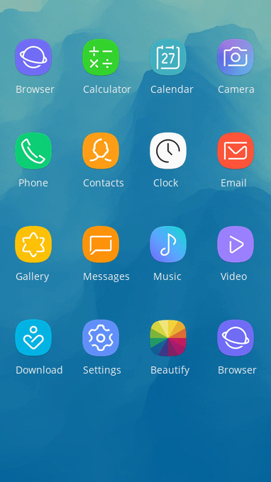 oppo realme 2 pro free android theme – U launcher 3D