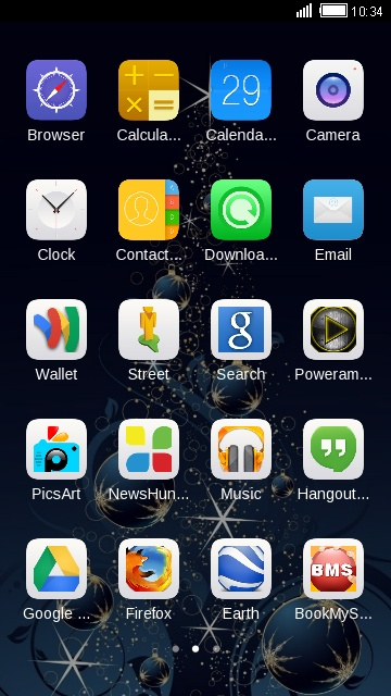 Download iOs 8 theme for your Android phone — CLauncher