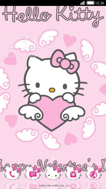 Download Hello Kitty Theme For Your Android Phone Clauncher