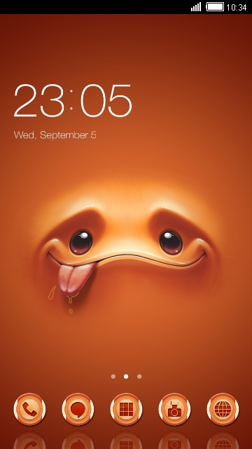 cute cartoon theme HD: cartoon face wallpaper