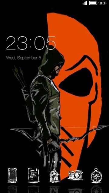Arrow Vs Deathstroke Free Android Theme U Launcher 3d