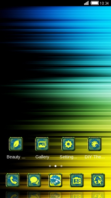 Stylish Launcher Neon Theme