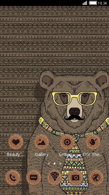 Hipster Animals Theme