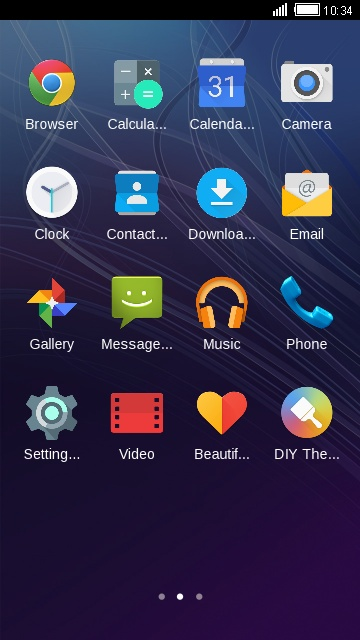 Theme for ZTE Avid Plus